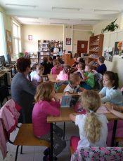 Spotkanie w Bibliotece Pedagogicznej w Brzozowie