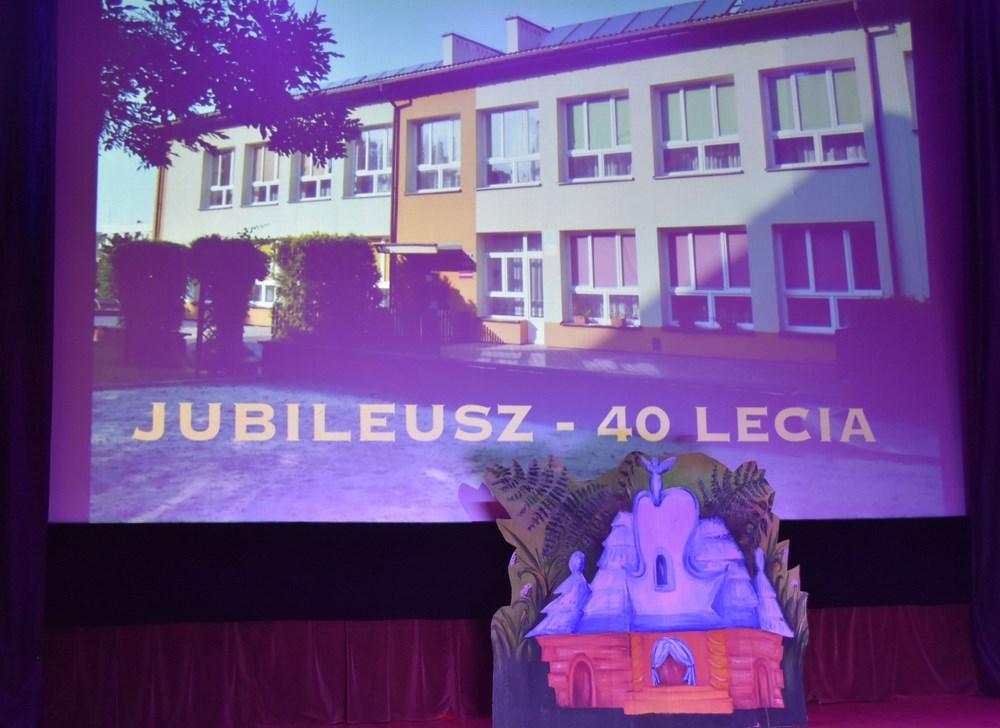 Jubileusz 40-lecia Przedszkola Samorządowego nr 2 w Brzozowie
