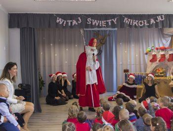 Wizyta Św. Mikołaja w przedszkolu