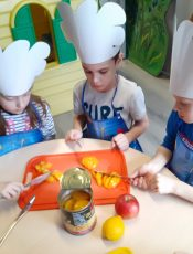 Działalność kółka kulinarnego