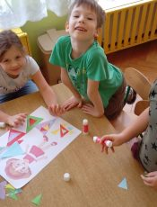 Zabawy z trójkątem…